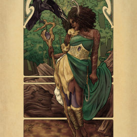 La Druide - The Druid