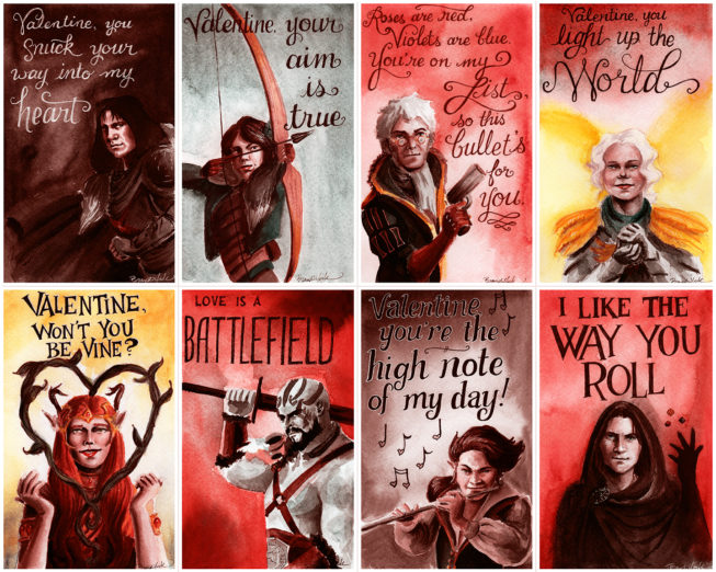 Critical Role Valentines