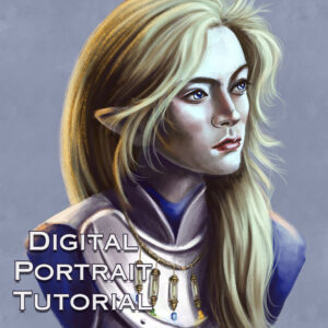 Digital Portrait Tutorial